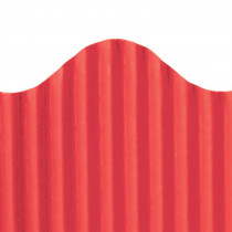 TOP21002 - Corrugated Border Red in Bordette