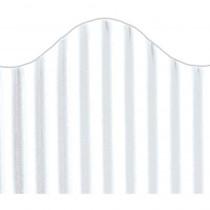 TOP21004 - Corrugated Border White in Bordette