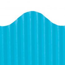TOP21005 - Corrugated Border Brite Blue in Bordette
