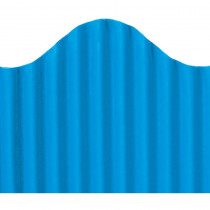 TOP21007 - Corrugated Border Dark Blue in Bordette
