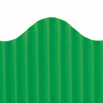 TOP21010 - Corrugated Border Deep Green in Bordette