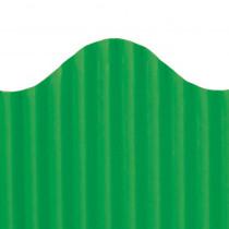 TOP21010 - Corrugated Border Deep Green in Bordette