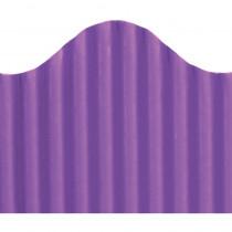 TOP21013 - Corrugated Border Purple in Bordette