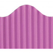 TOP21015 - Corrugated Border Radiant Orchid in Bordette