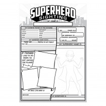 TOP3060 - Superhero Sighting in Classroom Activities