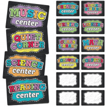 TOP3113 - Neon Chalk Center Signs in Classroom Management