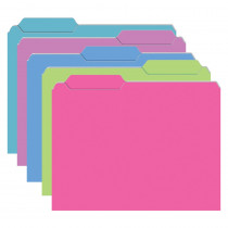 TOP3316 - Brite Mini File Folders 10Pk Galactic Assorted in Folders