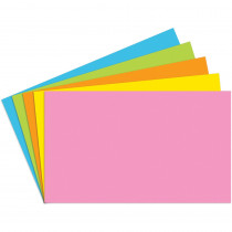 TOP360 - Index Cards 3X5 Blank 100 Ct Brite Assorted in Index Cards