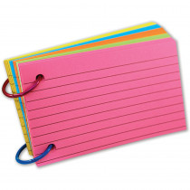 TOP3674 - Ring Notes Lined in Index Cards