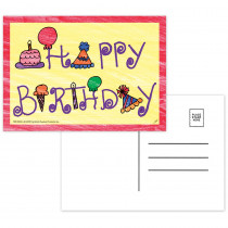 TOP5106 - Happy Birthday Postcards in Postcards & Pads