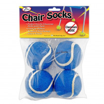 TPG233 - Chair Socks Blue 144Pk in Casters