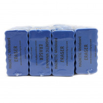 TPG35224 - Magnetic Whiteboard 24Pk Blue 4X2 Erasers in Erasers