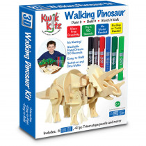 TPG540 - Walking Dinosaur Kit Triceratops in Animals
