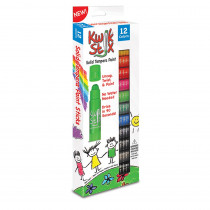 TPG602 - Kwik Stix Tempera Paint 12Pk Prime Colors in Paint