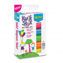 TPG610 - Kwik Stix Solid Paint Neon Colors 6Ct in Paint