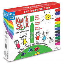 TPG696 - Kwik Stix Tempera Paint Classpack 96Pc Set in Paint
