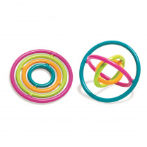 TPG860 - Gyrobi Plastic Ring Fidget Toy in Novelty