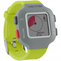 TTMTTW8YGRW - Time Timer Watch Plus Sm Lime Green in Timers