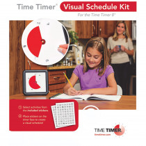 TTMVSK11 - Time Timer Visual Schedule Kit in Timers