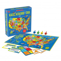 UG-00701 - Scholastic Race Across The Usa Game in Games