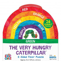 The World of Eric Carle The Very Hungry Caterpillar 2-Sided Floor Puzzle - UG-33836 | University Games | Floor Puzzles