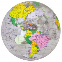 UNI1736527 - 16In Inflatable Transparent Globe in Globes