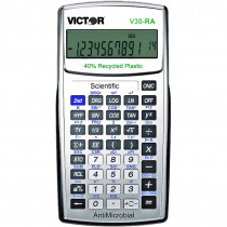 VCTV30RA - Ten Digit Scientific Calculator W Antimicrobial Protection in Calculators