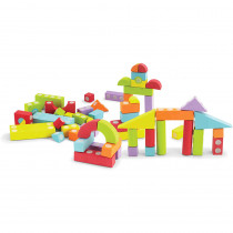 VEC70187 - Velcro Brand Blocks 60 Piece Set in Blocks & Construction Play