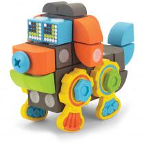 VEC70190 - Velcro Brand Blocks Doggy Robot in Blocks & Construction Play