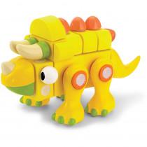 VEC70193 - Velcro Brand Blocks Triceratops in Blocks & Construction Play