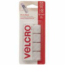 VEC90073 - Velcro Tape 7/8 Squares White in Velcro
