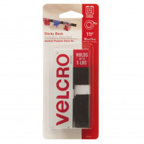 VEC90078 - Sticky Back 18In X 3/4In Tape  Blk in Velcro