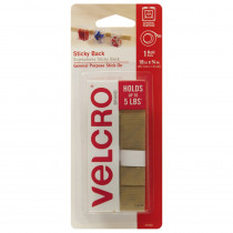VEC90080 - Velcro Tape 18 Strips Beige in Velcro