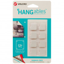 VEC95180 - Hangables 3/4In Squares 8 Ct in Velcro