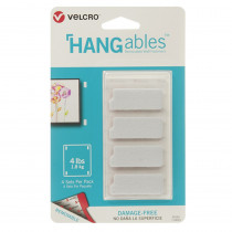 VEC95181 - Hangables 1-3/4In X 3/4In Strps 4Ct in Velcro