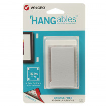 VEC95183 - Hangables 3In X 1-3/4In Strips 4Ct in Velcro