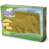WAB130103 - Moon Sand Lunar Yellow 5 Lb Box in Sand & Water