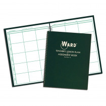 WAR16 - Teacher Plan Book 6 Period in Plan & Record Books