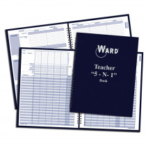 WAR51 - Teacher 5 In 1 Grade Book Lesson Planner Behavior Forms & Calendar in Plan & Record Books