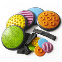 Tactile Discs - Set 1 - WING2117 | Winther | Gross Motor Skills