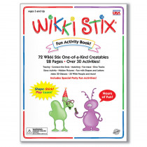 WKX109 - Wikki Stix Fun Activity Book in Art Activity Books