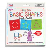WKX705 - Wikki Stix Basic Shapes Kit in Art & Craft Kits