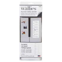 "Dry Erase Weekly Wall Calendar, 9 x 25"" - WLE16207 