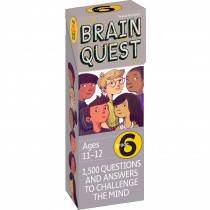 WP-16656 - Brain Quest Gr 6 in Games & Activities