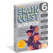 WP-18243 - Brain Quest Workbook Grade 6 in Cross-curriculum Resources