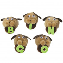 WZ-104 - Bingo Dogs With Letters in Puppets & Puppet Theaters
