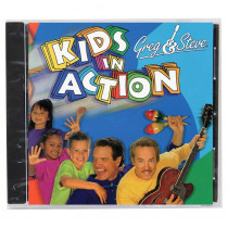 YM-017CD - Greg & Steve Kids In Action Cd in Cds