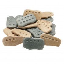 YUS1092 - Tactile Counting Stones Set Of 20 in Counting