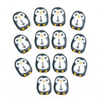 Pre-Coding Penguin Stones, Set of 18 - YUS1110 | Yellow Door Us Llc | Science