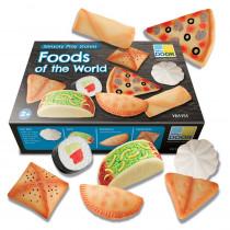 Sensory Play Stones, Foods of the World - YUS1151 | Yellow Door Us Llc | Play Food